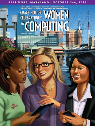 2012 Grace Hopper Celebration of Women in Computing