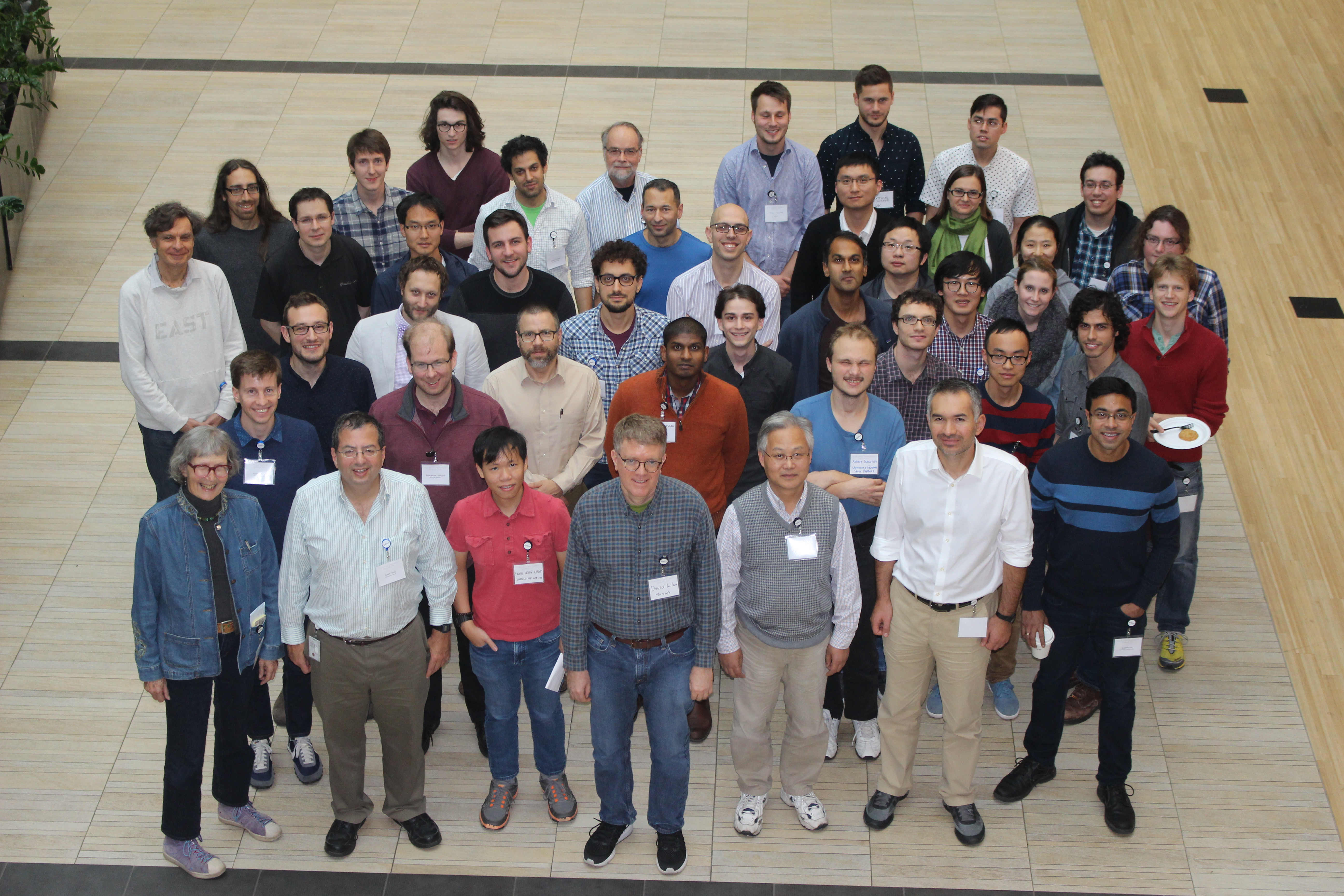 Participants of the Northwest Probability Seminar 2016
