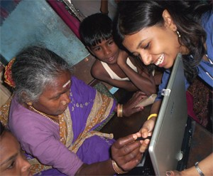 Indrani Medhi brings the power of computing to illiterate, first-time users in India.