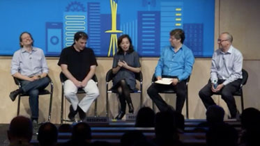 Panel discussion on how to advance artificial intelligence intelligently.