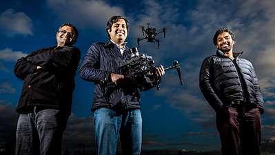 Image associated with Microsoft shares open source system for training drones, other gadgets to move safely on their own.