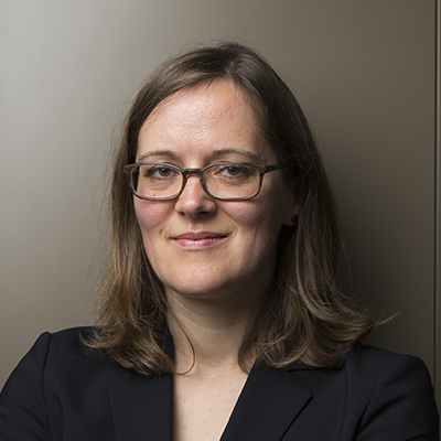 Portrait of Katja Hofmann from Microsoft Research and speaker at the Microsoft Research AI and Gaming Research Summit