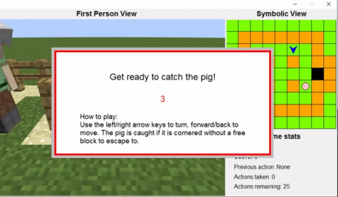 Image attached to Catch the Pig – The Malmo Collaborative AI Challenge