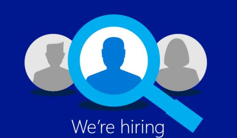 Image associated with We're hiring! Microsoft works with the world's best researchers, moving with the current of technology as it rapidly evolves.