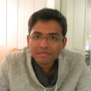 Portrait of Souvik Dhara