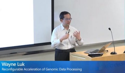 Reconfigurable Acceleration of Genomic Data Processing