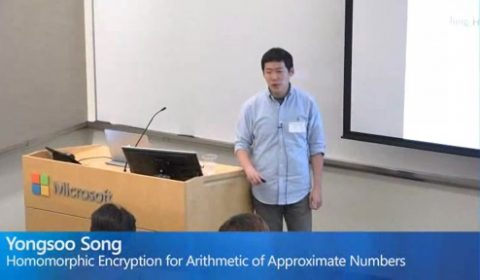 Homomorphic Encryption for Arithmetic of Approximate Numbers