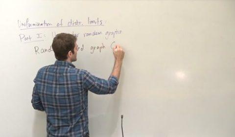 Uniformization of distributional limits of graphs
