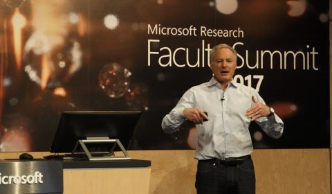 Eric Horvitz at 2017 Microsoft Research Faculty Summit