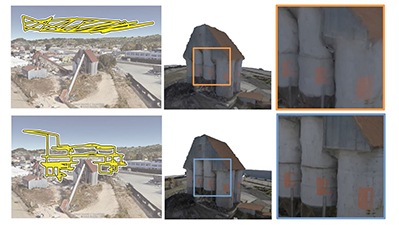 Image associated with Aerial 3D Scanning – An automatic method to generate drone trajectories