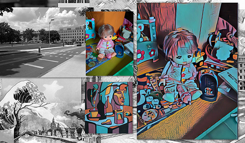 Image associated with AI with creative eyes amplifies the artistic sense of everyone