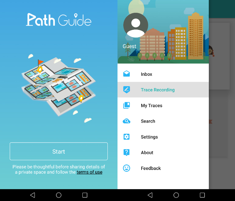Path guide a new approach to indoor navigation for Indoor navigation design