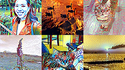 Image associated with TechCrunch: Microsoft Pix can now turn your iPhone photos into art, thanks to artificial intelligence