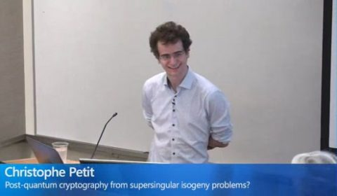 Post-quantum cryptography from supersingular isogeny problems?