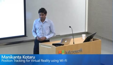 Position Tracking for Virtual Reality using Wi-Fi