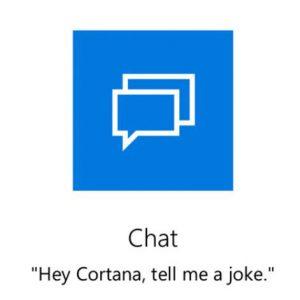 Cortana Chat