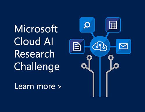 Microsoft Cloud AI Research Challenge
