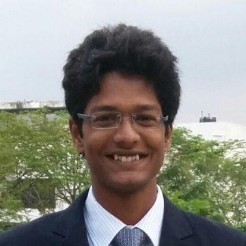 Portrait of Priyan Vaithilingam