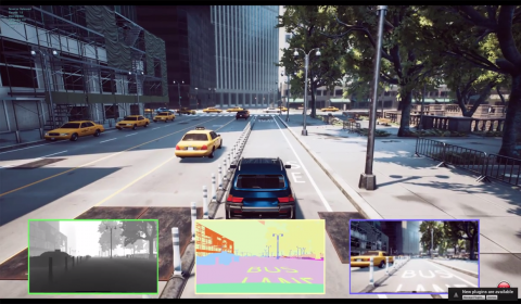 Image attached to Autonomous car research with AirSim