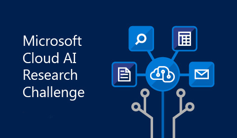 Image associated with The Cloud AI Research Challenge invites researchers to build AI applications on Microsoft AI services.