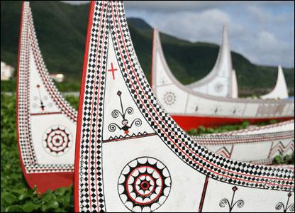 austronesian boats