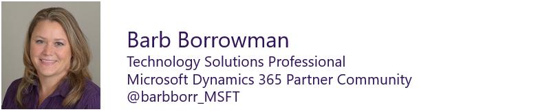 Barb Borrowman - Technology Solutions Professional Dynamics 365