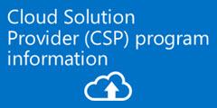 CSP program information CTA