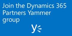 CTA - Dynamics 365 Yammer group