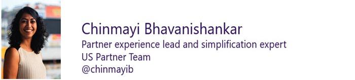 Chinmayi Bhavanishankar - US Partner Experience Lead