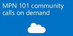 Watch MPN 101 Community calls on demand