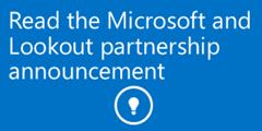 microsoft-lookout-partnership
