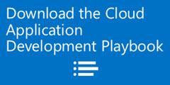 Download the Cloud App Dev Playbook