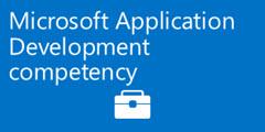 Earn the Microsoft Application Development competency