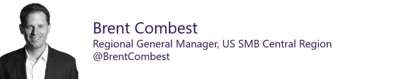 Brett Combest, Regional General Manager, US SMB Central Region