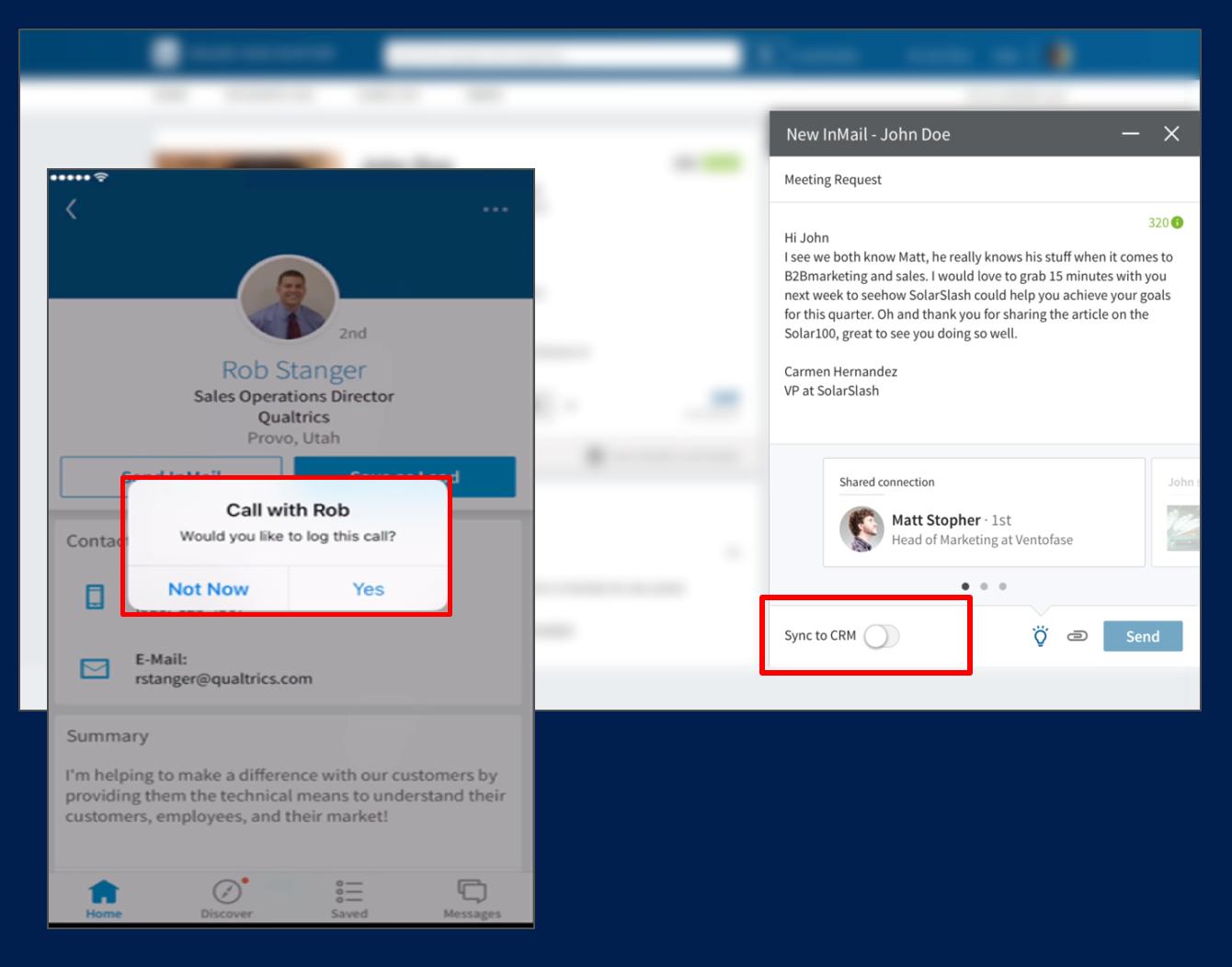Dynamics 365 Partners: Microsoft Dynamics 365 and LinkedIn