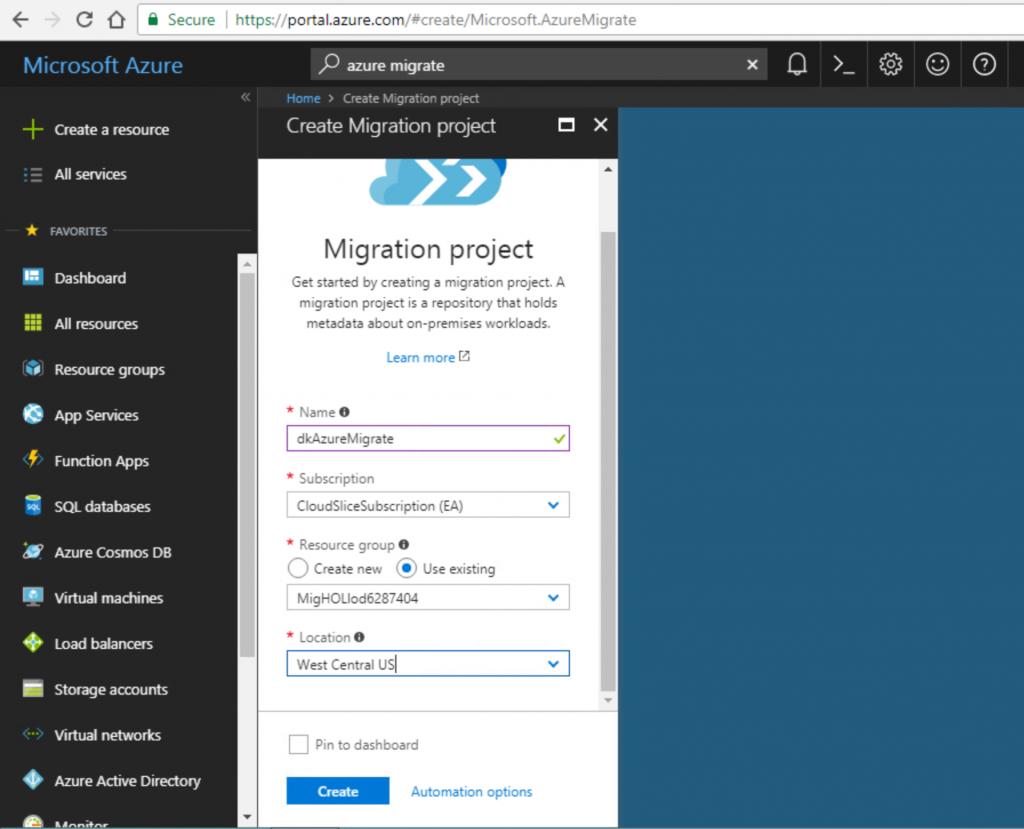 Azure Migrate: Simplifying VMWare to Azure Migrations - US