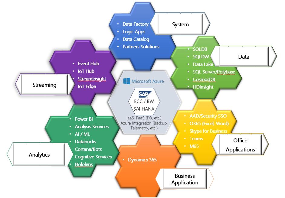 Integration options: SAP & Microsoft Platform Services