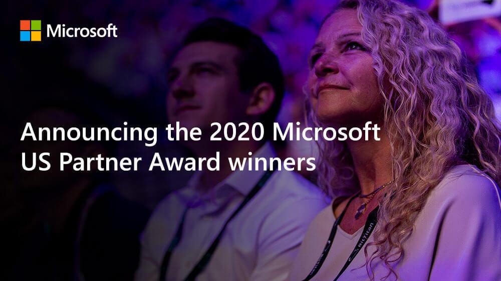 Announcing the 2020 Microsoft US Partner Award winners