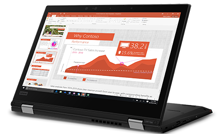 Image for: Image of the Lenovo L390 Yoga.