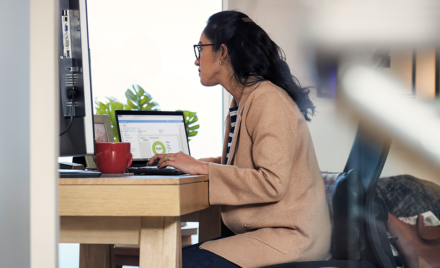 Image of a remote worker.