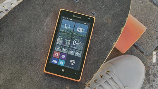 Teléfono Lumia, más información