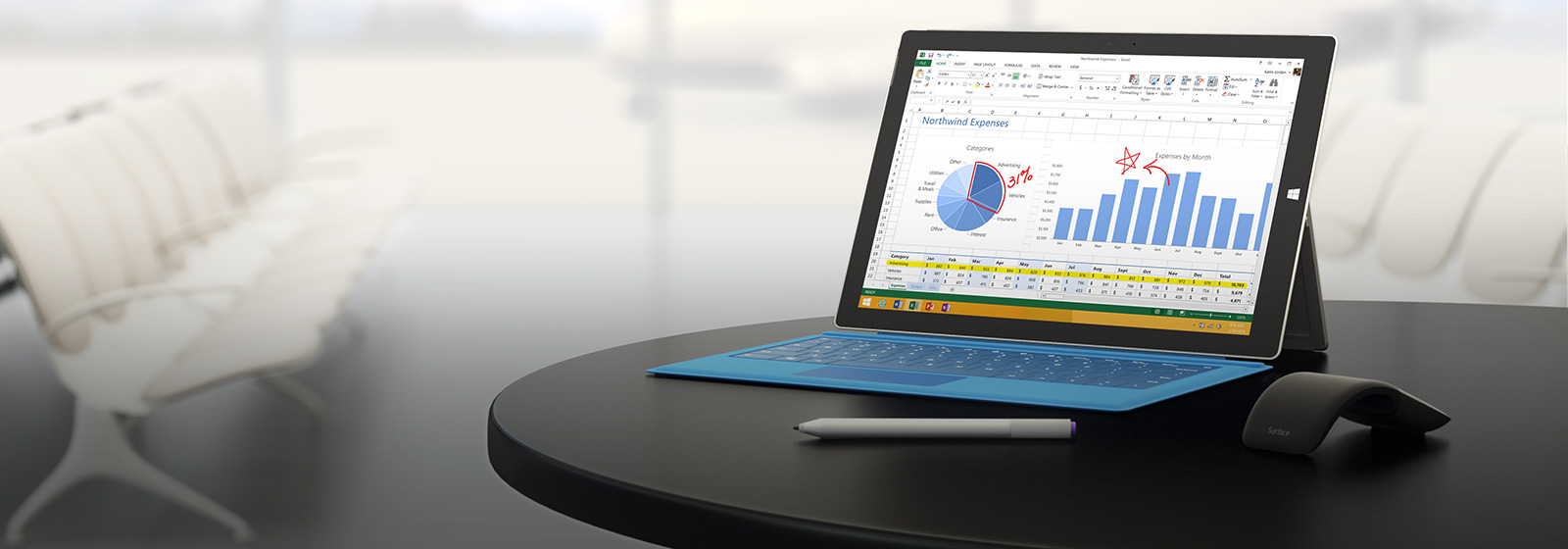 La tableta que puede reemplazar a tu portátil. Surface Pro 3.