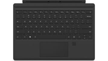 Funda con Teclado para Surface Pro con identificador de huella digital