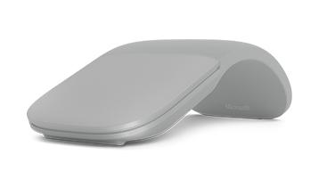 Surface arc mouse gris claro
