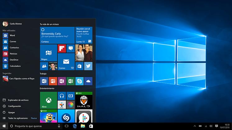 Cosas que deberías hacer tras instalar Windows 10.