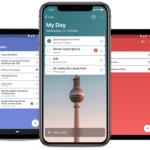 Imagen de las listas de Mi día en cinco dispositivos diferentes, desde tabletas hasta teléfonos y PC.