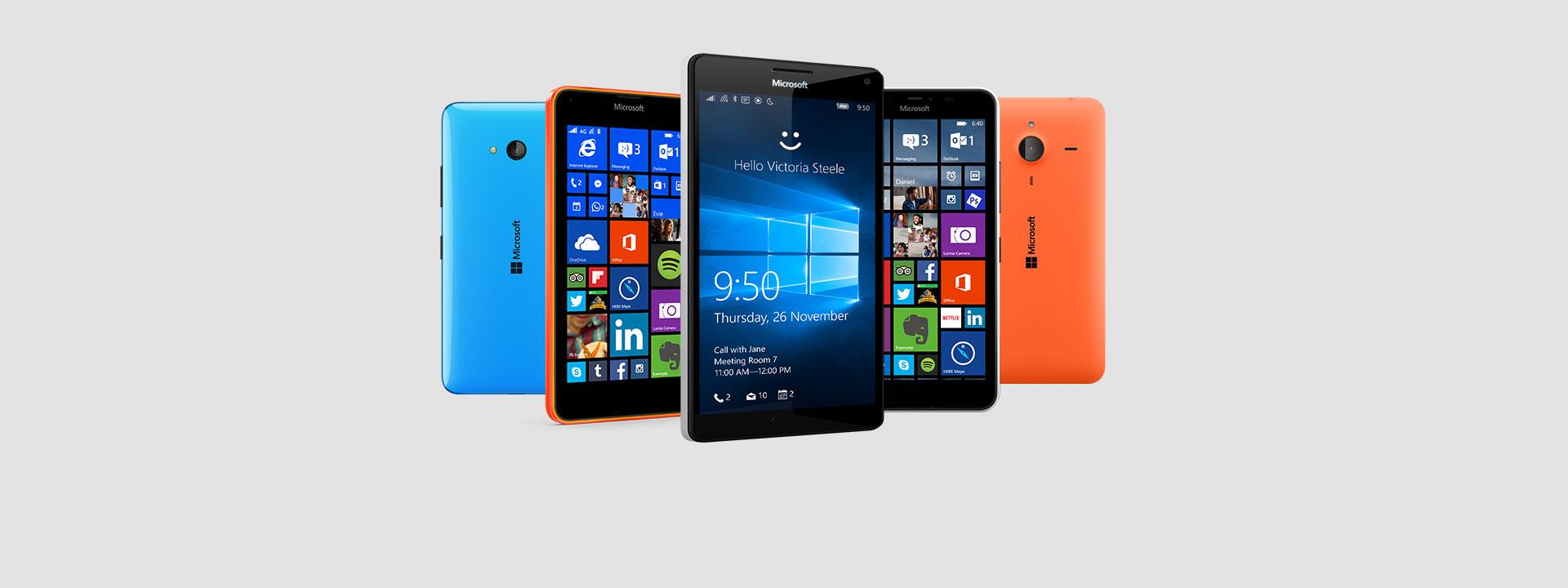 Teléfonos Lumia, encontrar uno adecuado para ti