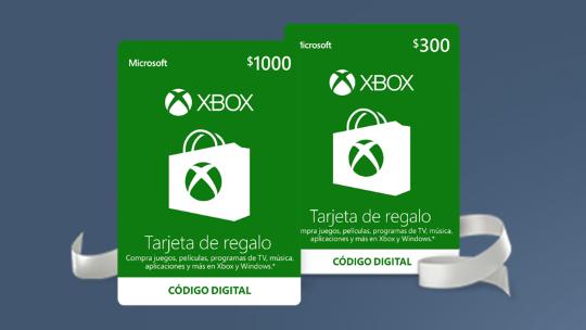 10% de descuento en Tarjetas de Regalo Xbox en Microsoft Store