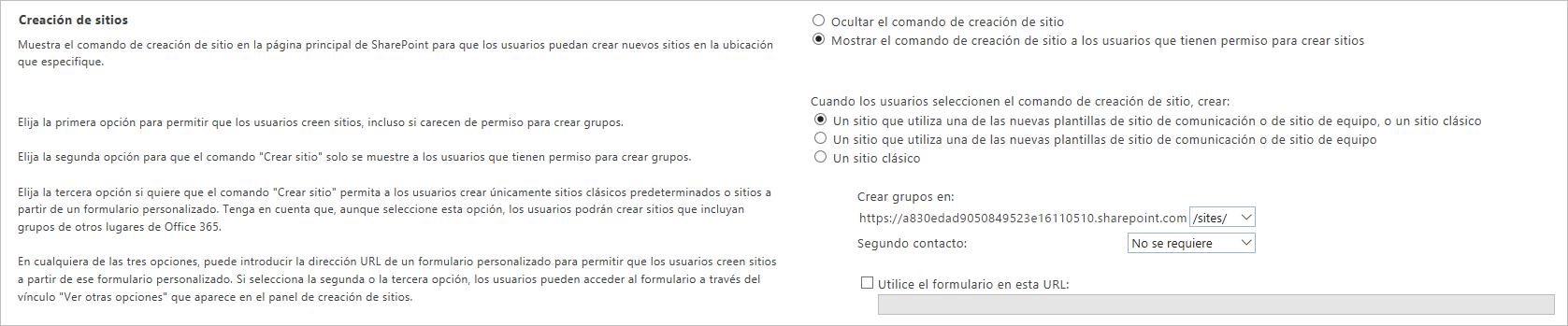 Crea sitios de grupo conectados de SharePoint Online en segundos ...