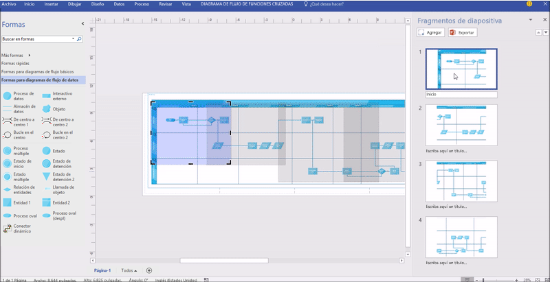 Novedades para office 365 en marzo coautora en excel y ms visio excel y powerpoint funcionan mejor juntos para ayudarte a crear sin esfuerzo diagramas de flujo con los datos de excel y exportar fragmentos de ccuart Images